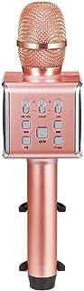 WHSS Microphones DDI, Karaoke Player Portable Bluetooth Sans Fil Karaoke Microphone Haut-parleur Smartphone Ou PC, Home KT...