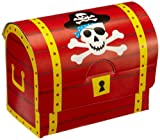 8 Schatzkisten / Schatztruhen aus Pappe Pirat