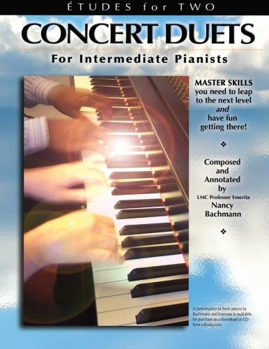 Etudes for Two: Concert Duets for Intermediate Pianists