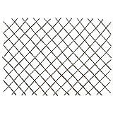 Tidyard Weidenzaun-Rankgitter 5 STK. Weide Erweiterbar Gartenzaun Sichtschutz Rankhilfe Gitter Spalier Rankzaun Garten für Kletterpflanzen 180x120 cm