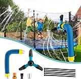 Trampoline Sprinkler for Children, Trampoline Water Sprinkler, Outdoor Trampoline Water Sprinkler,...