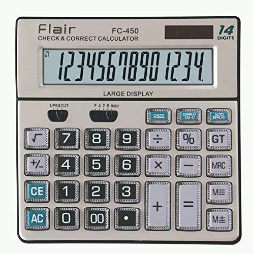 WRITEAWAY FLAIR FC -450 Desktop Calculator