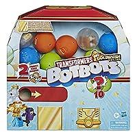 Hasbro トランスフォーマー トイ ボット シリーズ4 サプライズ アンボクシング ガムボールマシン - フィギュア5体、ステッカー4枚、レアゴールドフィギュア1体 - 対象年齢5歳以上