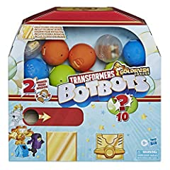 EVERYDAY STUFF BROUGHT TO LIFE: BotBots are mischievous little robots who came to life from everyday objects inside a shopping mall. 2-IN-1 TOY: BotBots figures change from robot to random object mode. For kids 5 years old and up, these mini collecti...