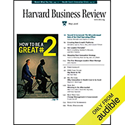 Harvard Business Review, May 2006 copertina