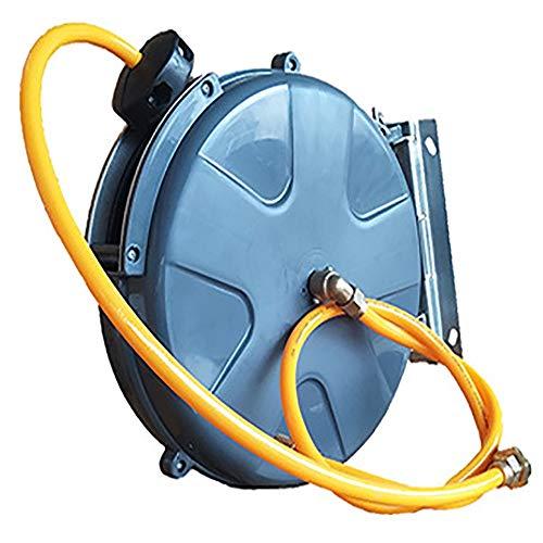 Jtoony Automatische Schlauchtrommel Schlauch-Aufroller Automatische Teleskopschlauchtrommel Hochdruck-Wassertrommel Car Wash Shop-Reinigungsgeräte Wand- Reel 180 ° Pivot Wand-Schlauchbox