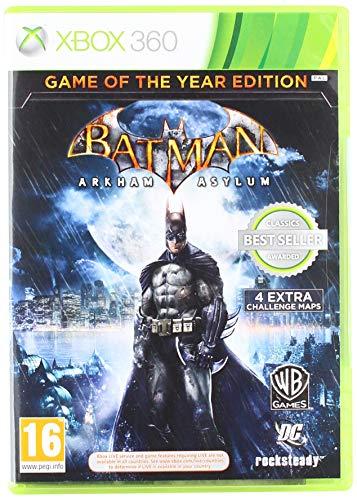 Xbox 360 Batman: Arkham Asylum GOTY Edition