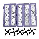 Lee Goal Filtro para Notebook Cepillo Cepillos Laterales para Kit de Accesorios compatibles con...