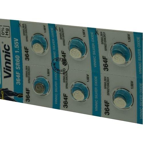 Otech Pack de 10 Piles Vinnic 4898338000849