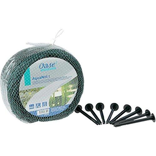 Oase 53751 Aquanet Teichnetz 1, idealer Schutz von Teichen vor runterfallenden Blättern und Laub, passend für Teiche bis max. 3 x 4 m, auch als Vogelschutznetz bei Bäumen und Sträuchern verwendbar