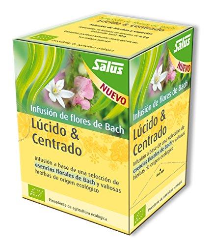 Salus Flores de Bach Lucido & Centrado Infusion - 15 sobres de 2g