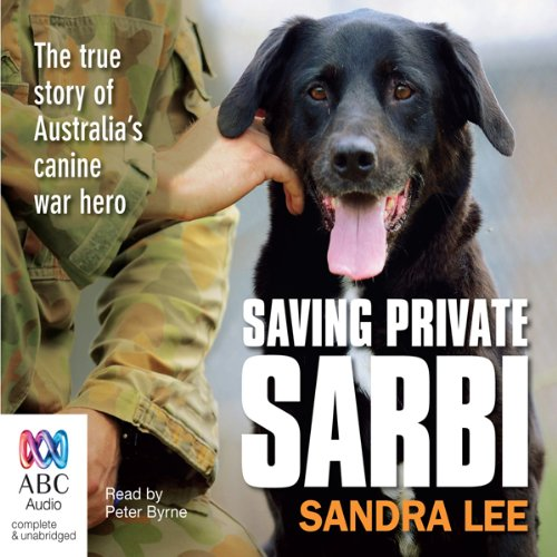 Saving Private Sarbi audiobook cover art