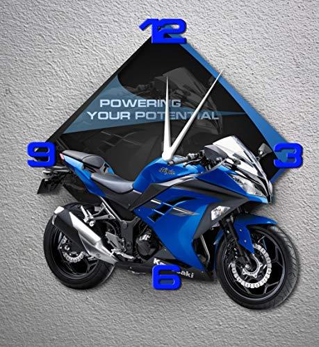 Azgraphishop GP-090 Prot/ège-R/éservoir pour Yamaha MT-10 bleu