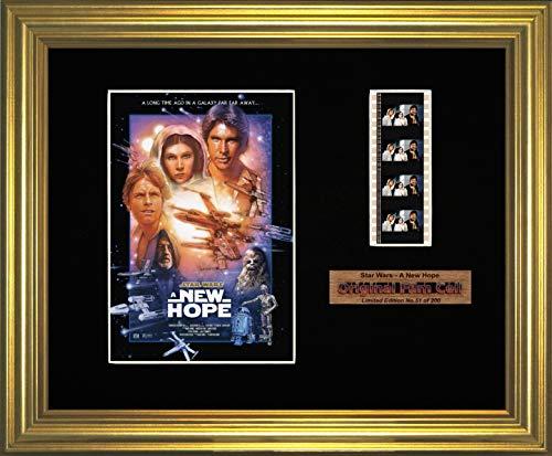 Star Wars - A New Hope - Póster enmarcado (g)