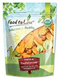 Organic Mango Cheeks by Food To Live (Dried, Non-GMO, Kosher, Unsulphured, Unsweetened, Bulk) — 1.5 Pounds