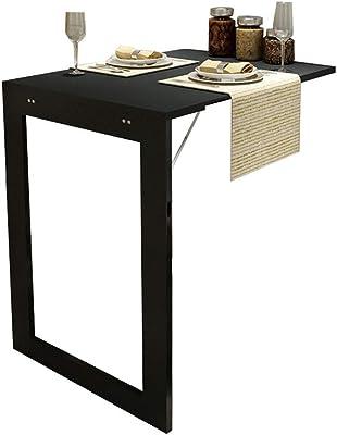 LAMXF-Table murale Mesa Plegable Plegable con Patas, Mesa de ...