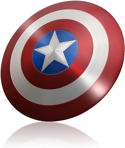 Venta barata ZYER Los Vengadores Vengadores Vengadores Marvel Capitán América Disfraz de Metal Shield Adulto Uno Tamaño 1  1 Apoyos de Película  saludable