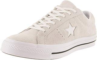 Converse One Star Ox White/White/White, Men's Shoes, White, 9.5 UK (43) (161577C)