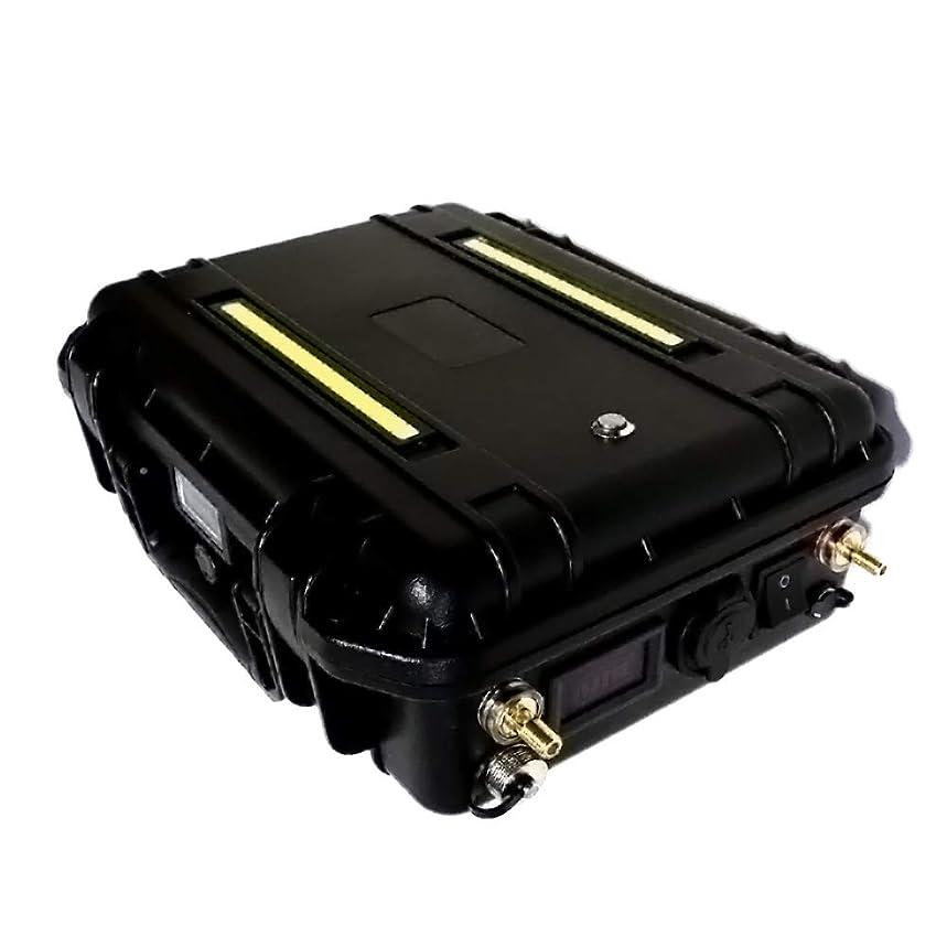 プランター世界薬剤師@NSS ダイワ シマノ 電動リール用 バッテリー 超大容量 360Wh マルチ ポータブル電源 12V 30Ah 魚探 集魚灯 ジャンプスターター