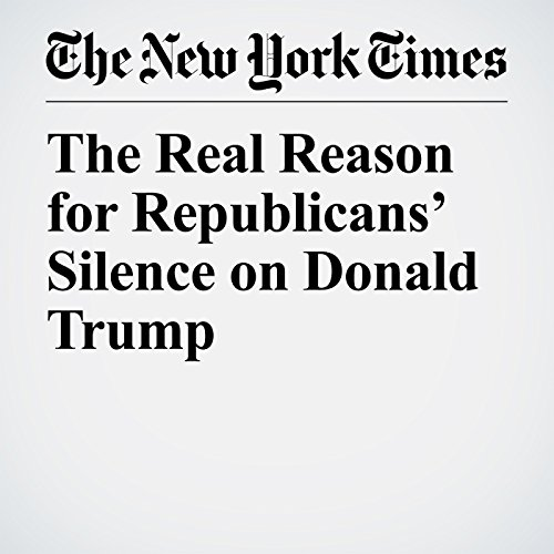 The Real Reason for Republicans' Silence on Donald Trump copertina