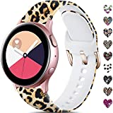 TRA Pattern Printed Silicone Band Compatible with Samsung Galaxy...