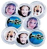 Your Design Fotomagnete: 8er-Set Bilder-Magnete für metallische Oberflächen (Kühlschrankmagnete Foto)
