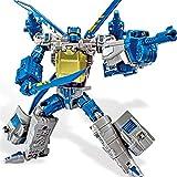 siyushop Transformar El Robot De La Acción De La Acción del Robot, Autobot, El Juguete del Modelo De Robot, Juguete De La Deformación Infantil - Regalo De Robot Niños ( Color : Blue )
