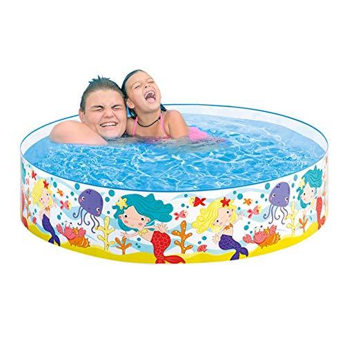 Kinderzwembad kinderzwembad Happy Sea Pool kinderzwembad zwembad met vaste muren, ø183 x 38 cm