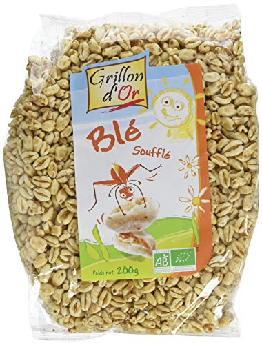 Grillon d'or Blé Soufflé BIO - 200 g - Lot de 4