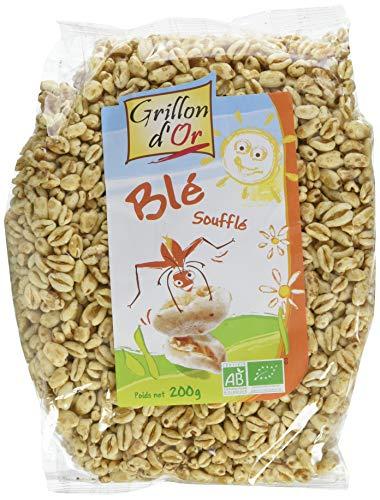 Grillon d'or Blé Soufflé BIO - 200 g - Lot de 4