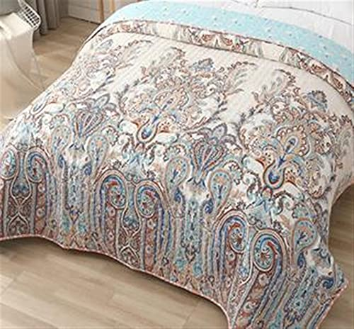 Zasinege Edredón de verano para cama individual, tamaño Queen, King, con aire acondicionado, colcha (color: 2, tamaño: 120 x 200 cm)