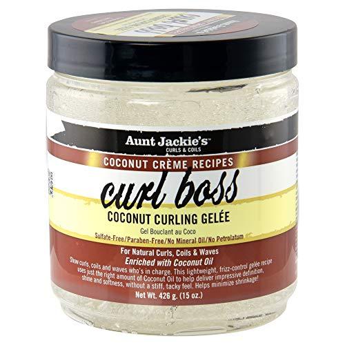 Aunt Jackie's COCONUT CREME Curl Boss 15oz