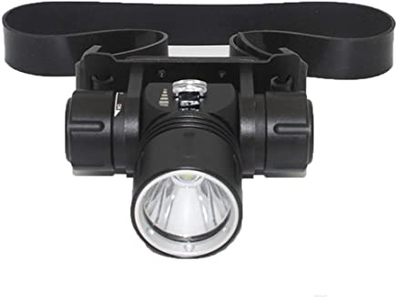 ZLHW LED Head Torch Waterproof,CREE XML-L2 LED Diving Underground Miner Light IPX8 Waterproof Underwater 100M Headlights 1200LM Headset Diving Headlights