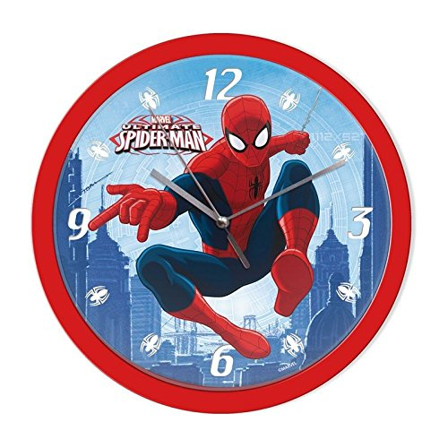 ELI Spiderman Wanduhr [Ø25 cm]