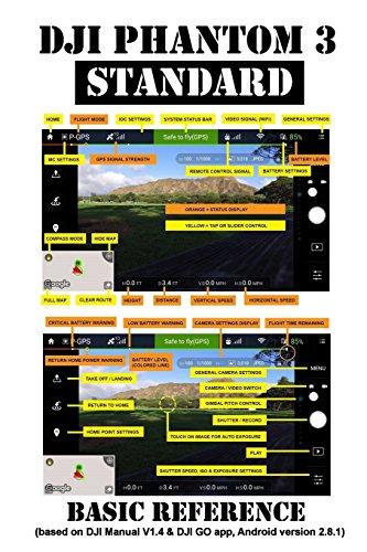 DJI Phantom 3 Standard: Basic Reference