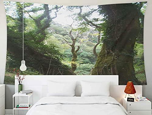 N\A Grande Tapisserie Murale, tapisseries Deacutecor Salon Chambre à Coucher pour la Maison à l'intérieur par imprimé pour paysages forestiers