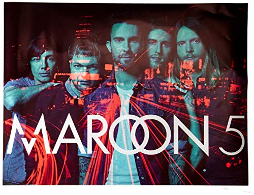 777 Tri-Seven Entertainment Maroon 5 Poster Music Art Print