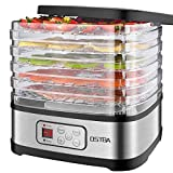 Best NEW Food Dehydrators - OSTBA Food Dehydrator Machine Adjustable Temperature Control Food Review