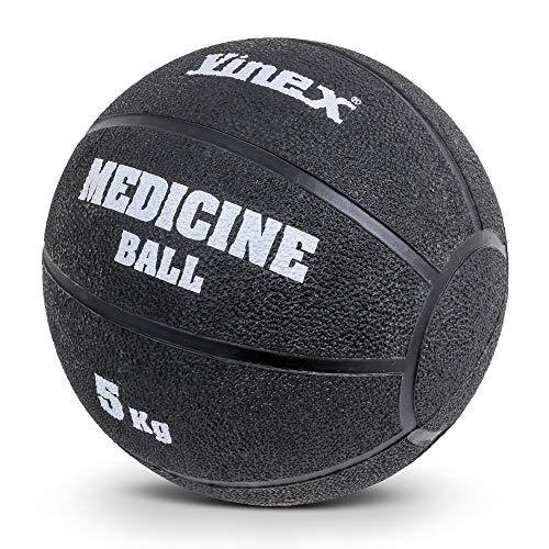Vinex Palla Medica in Gomma - 5 kg - 27 cm - Nero