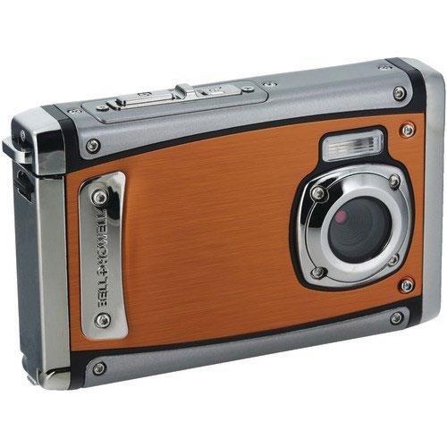 """Bell+Howell WP20-O Splash3 20 Mega Pixels Waterproof Underwater Digital Camera with Full 1080p HD Video, 2.4"""" LCD & 8X Digital Zoom, Orange"""