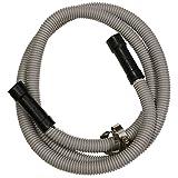 LASCO 16-1904 Universal Fitting Dishwasher Discharge Drain Hose, Corrugated Flexible Poly Tubing, 5/8 ID x 7/8 OD, 6.5-Feet Long