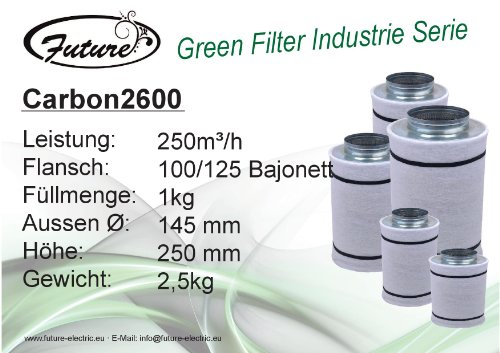 Future green filter industrie 250 m ³/h - 100 mm