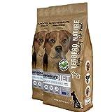 YERBERO Nature Grain Free Diet Pollo y Cerdo, 2 uds de 12 kg de alimento sin Cereales para Perros con 20% de Ahorro.