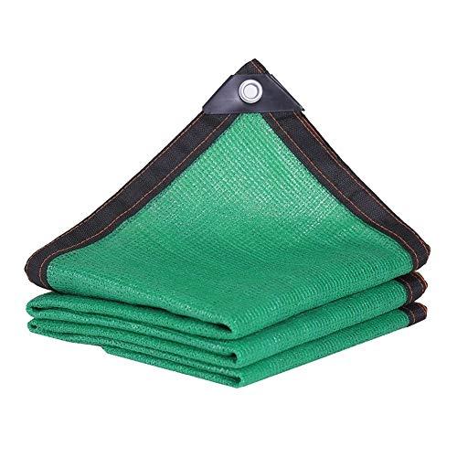 DEWUFAFA 90% Sunblock Shade Cloth, Vert Pour Pergola De Piscine Patio Ou Carport Cut Edge Cloth-8 Broches (Color : Green, Size : 6 × 10 M)