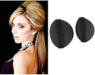 2Pieces(1Small+1Large) Women Bump It Up Volume Hair Base Styling Clip Stick Bum Maker Braid Insert Tool Do Beehive Hair Styler Party Hair Accessories