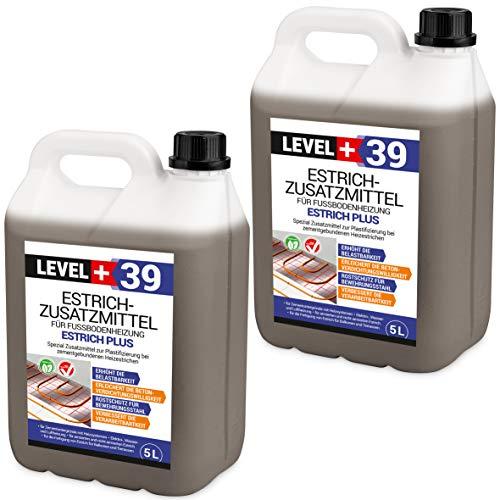 10L Estrichzusatzmittel für Fußbodenheizung, Heizestrich - Zementestrich RM39