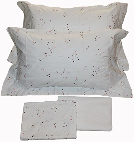 COMPLETO LETTO LENZUOLA ZUCCHI MON AMOUR GINNY MATRIMONIALE DUE 2 PIAZZE COTONE PERCALLE