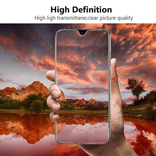 Ferilinso Schutzfolie Kompatibel mit Huawei Y6 2019 / Huawei Y6 Pro 2019 / Honor 8A, [3 Pack] Panzerglas Schutzfilm aus gehärtetem Glas (Transparent) - 6