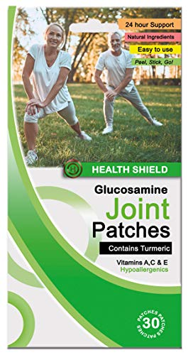 Glucosamine Joint Patches | Turmeric, Vitamin A, C and E | (30 Patches)