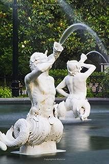 Forsyth Park Merman Fountain in Savannah Georgia Journal: 150 page lined notebook/diary